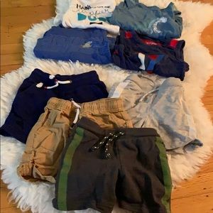 Cat & Jack Boys Toddler Lot of 8 Size 18 months